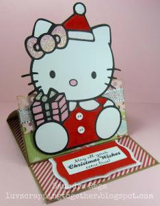 Hello Kitty Free Cut File